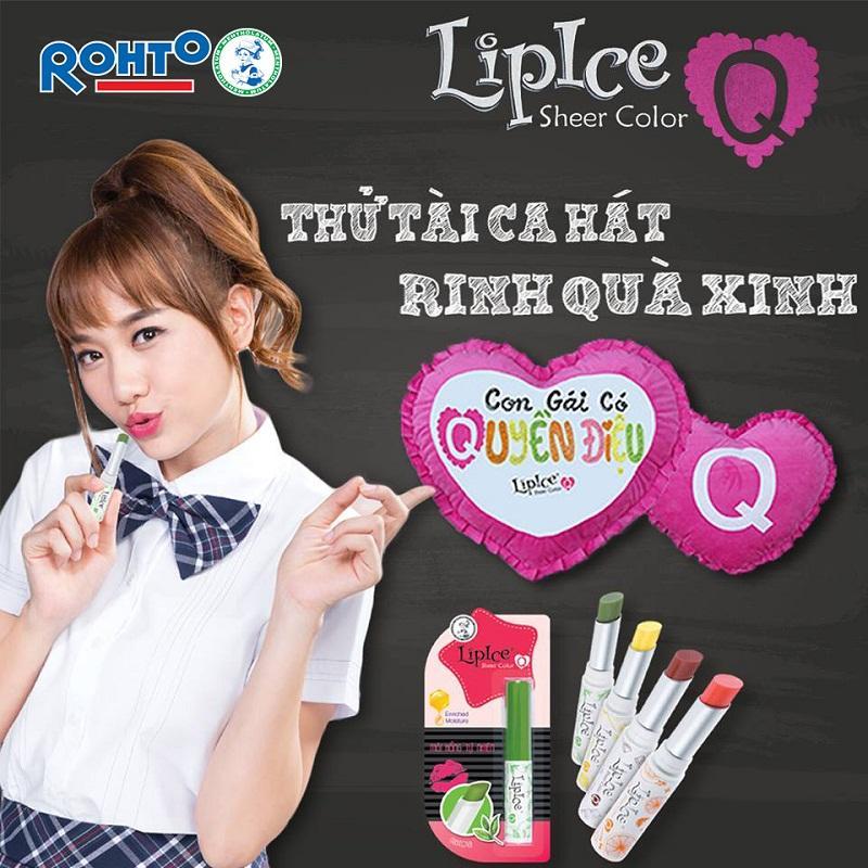 Hari Won – Đại diện son dưỡng thương hiệu Lipice