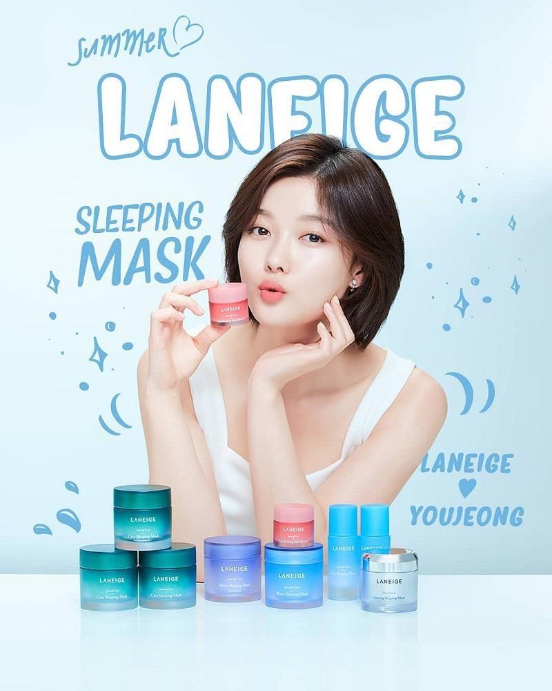 Laneige Water Sleeping Mask dưỡng ẩm cho da suốt đêm dài
