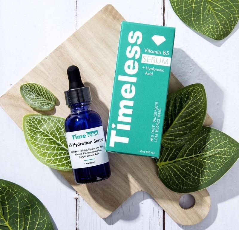Serum hiệu Timeless B5 giúp làn da căng mịn
