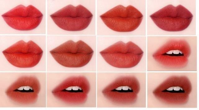 Tìm hiểu bảng màu son môi Black Rouge