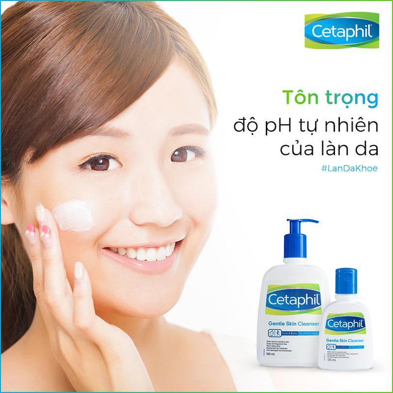 Cetaphil giúp da làm sạch sâu từ bên trong