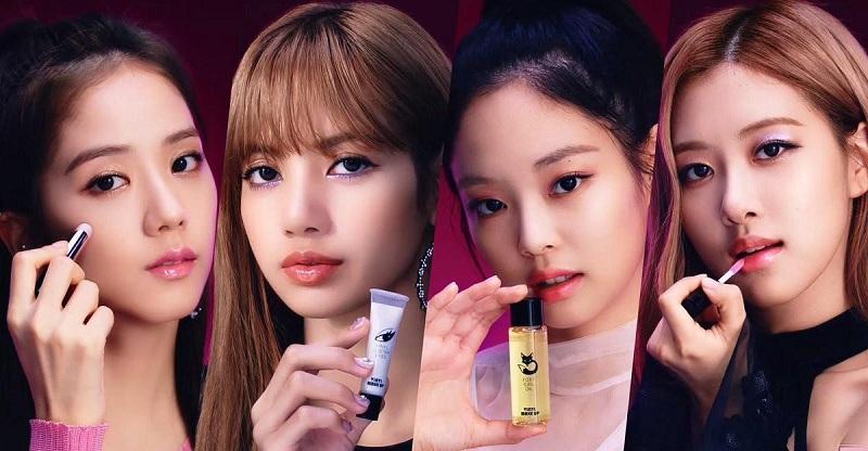 Chiến dịch quảng cáo mỹ phẩm từ Idol nổi tiếng