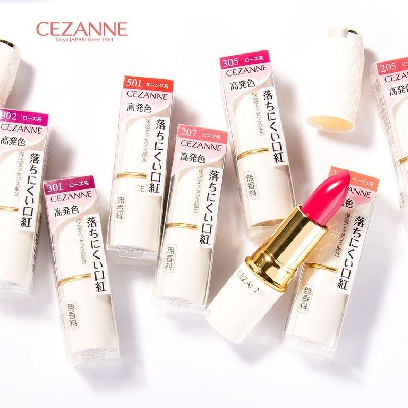 Giá son môi Cezanne bình dân phù hợp người dùng