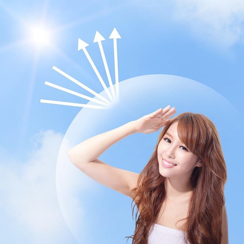 Sản phẩm có khả năng chống nắng tốt khi ngay cả khi vui chơi