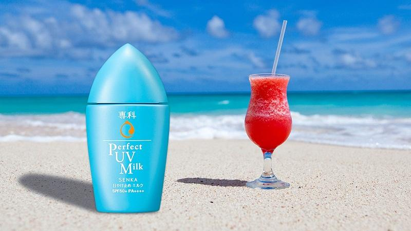 Senka Perfect UV Milk SPF50+ PA++++