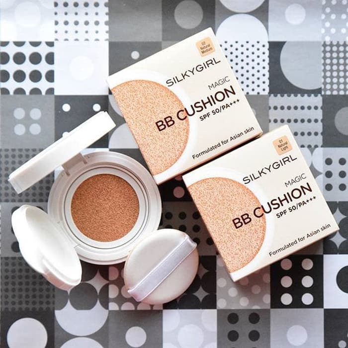 Phấn nước Silkygirl Magic BB Cushion SPF50/PA+++