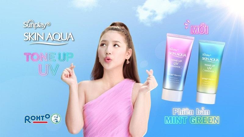 Các khách hàng đều rất hài lòng khi sử dụng kem chống nắng Skin Aqua