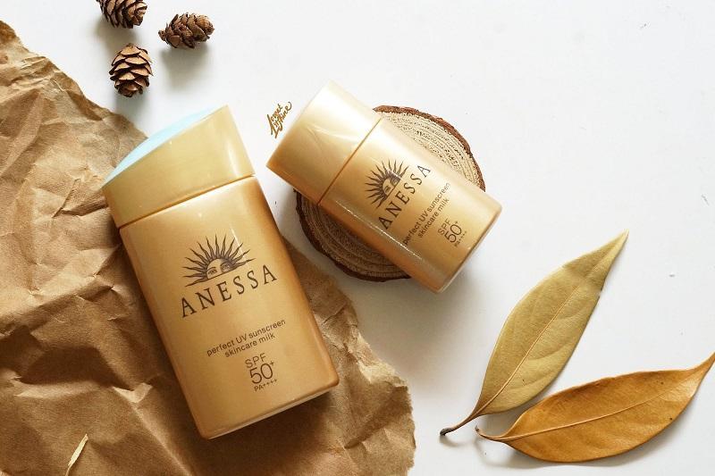 Kem chống nắng Anessa Perfect UV Sunscreen EX cho da khô và da dầu