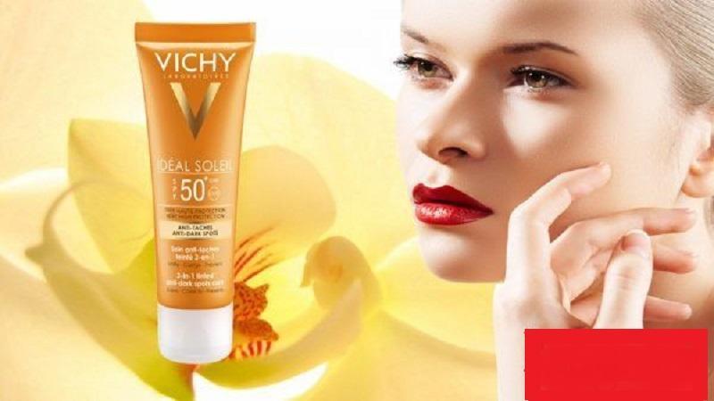 Kem chống nắng hiệu Vichy mùi nồng