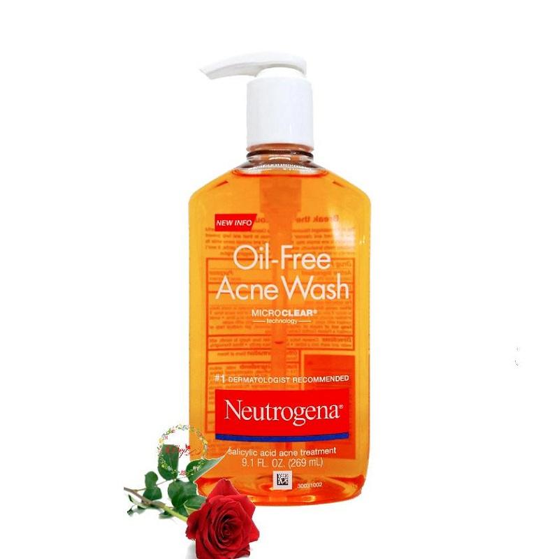 Neutrogena Oil-Free Acne Wash sự lựa chọn hoàn hảo dành cho quý cô da dầu