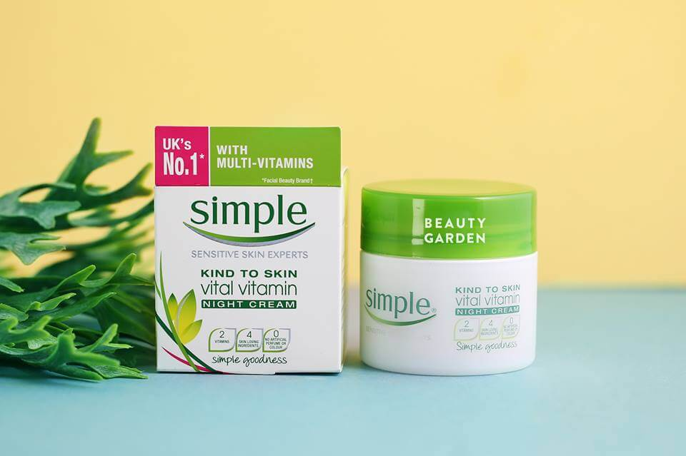 Simple Kind To Skin Vital Vitamin Cream