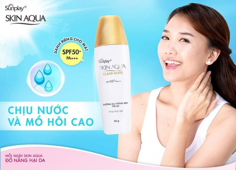 Sunplay Skin Aqua Clear White SPF 50+