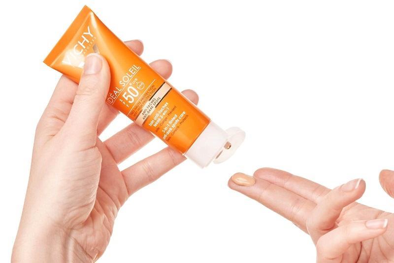 Test sản phẩm trước khi dùng để xem da có dị ứng không