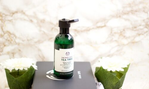 The Body Shop Tea Tree - sữa rửa mặt dành cho da dầu