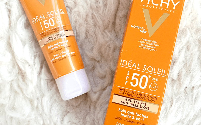 Vichy Ideal Soleil 3-In-1 Tinted Anti-Dark Spots Care SPF 50+