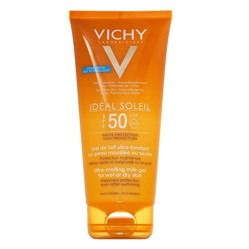 Vichy SPF 50 PA+++ Ideal Soleil Ultra-Melting Milk Gel
