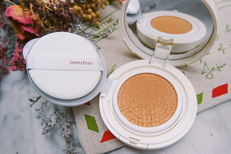Phấn nước INNISFREE LONG WEAR CUSHION SPF 50 PA+++