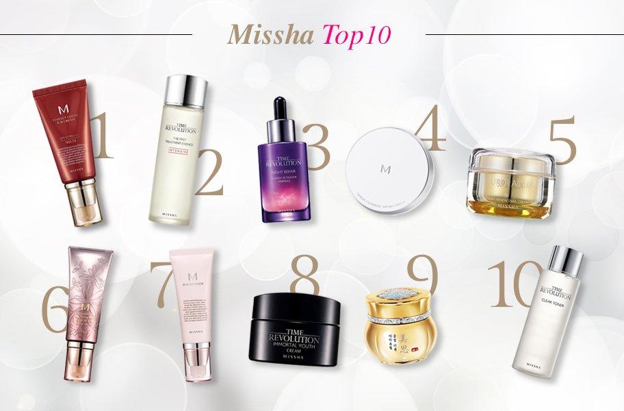 Missha - Thương hiệu mỹ phẩm đình đám từ Hàn Quốc
