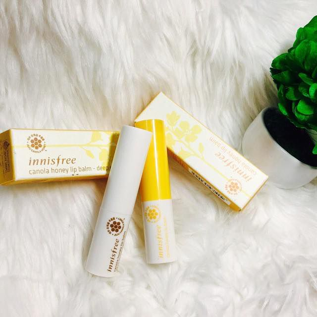 Innisfree Canola Honey Lip Balm