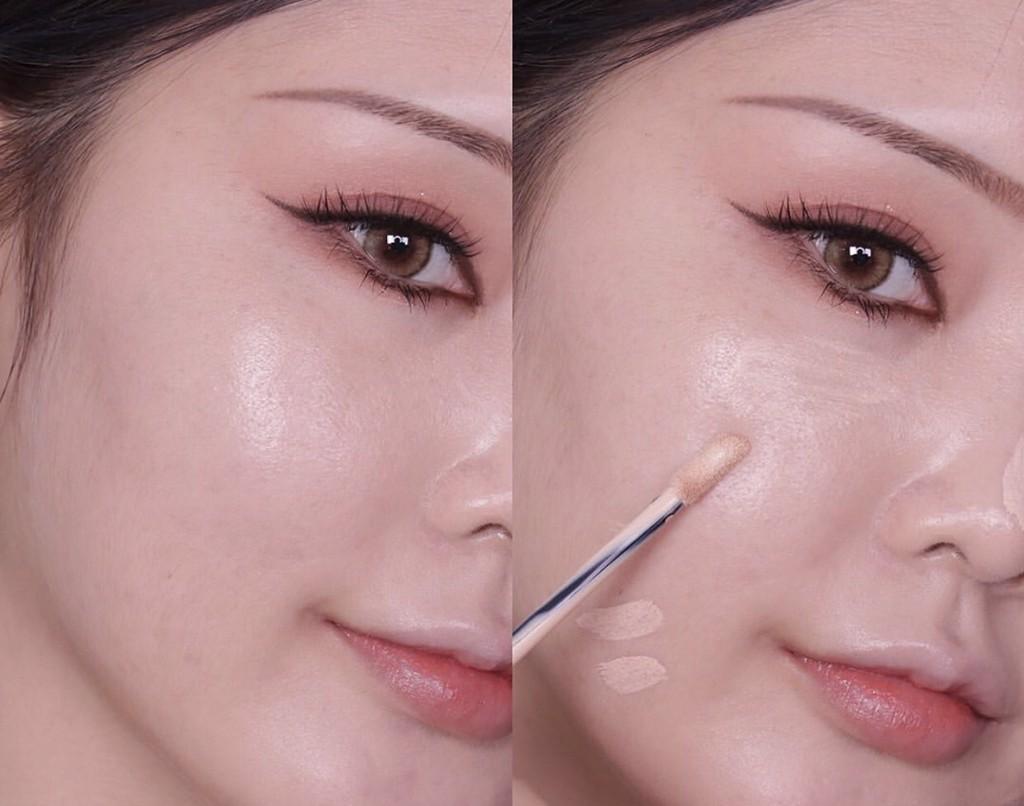 Sản phẩm có độ che khuyết điểm cực tốt và giử lớp che khuyết điểm cực lâu đúng chuẩn sản phẩm makeup chuyên nghiệp luôn nhé.