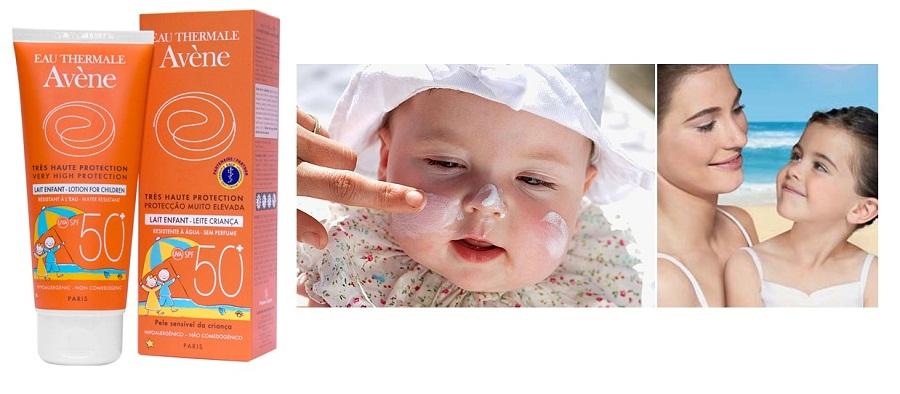 Sản phẩm không gây ra hiện tượng da trắng bệch, dễ thoa, đồng thời giúp bảo vệ làn da mỏng manh của bé trước tác hại của tia tử ngoại 1 cách hoàn hảo