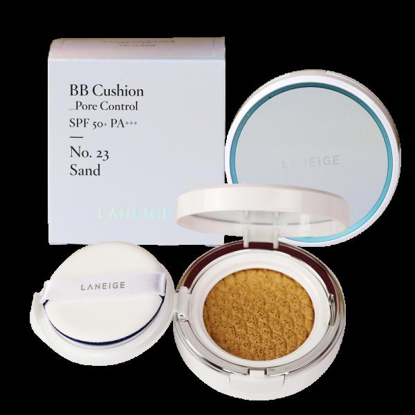 Dòng phấn dưỡng trắng Laneige BB Cushion Pore Control mới mang đến nhiều hơn sự tươi sáng và độ ẩm cho làn da của bạn.