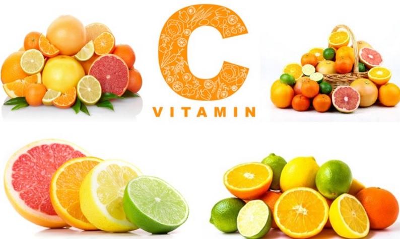 Vitamin C có tác dụng như một chất chống oxy hóa, kiểm soát huyết áp, chống viêm và tái tạo collagen