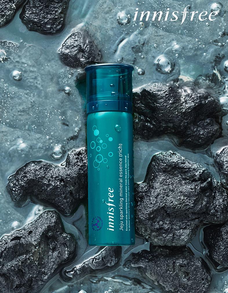 Xịt khoáng Innisfree Jeju Sparkling Mineral Mist