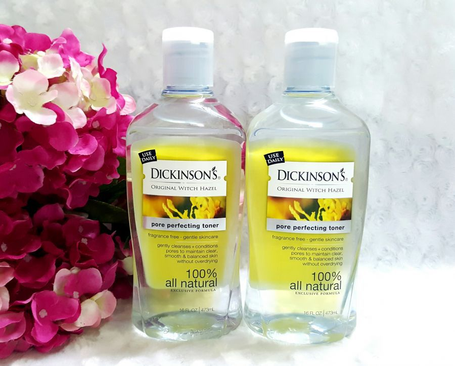 Nước hoa hồng Dickinson dạng chai