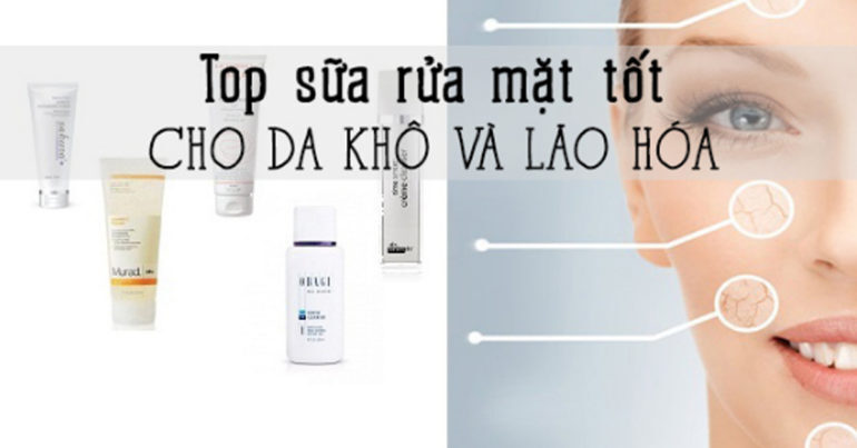 Sữa rửa mặt có tác dụng làm sạch da