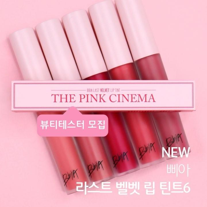 Son môi Bbia The Pink Cinema – Version 6