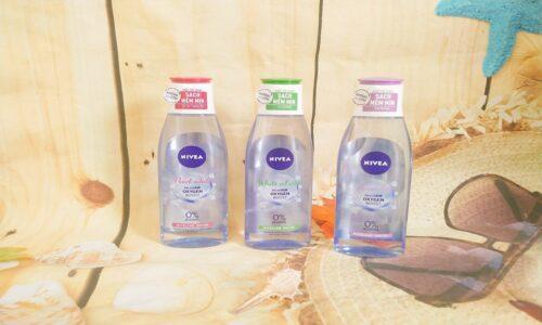 Nước tẩy trang Nivea có mấy loại? Da nào nên dùng? (Review 2021)