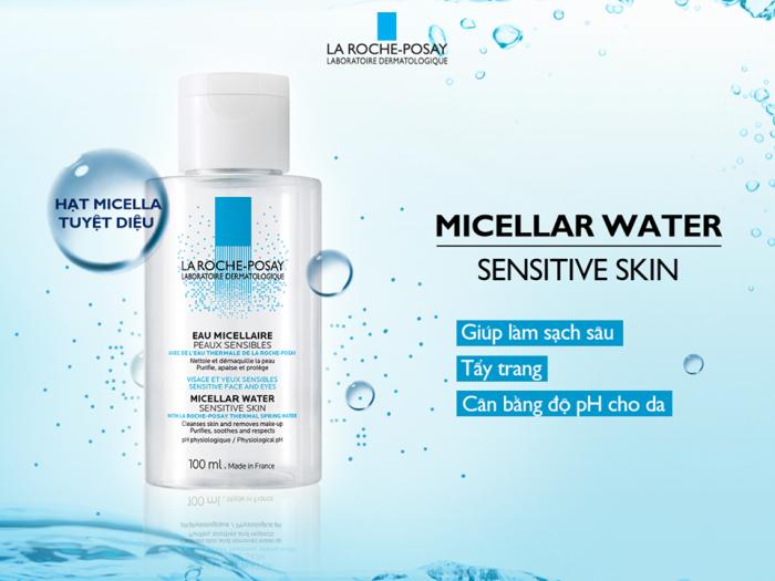 Nước tẩy trang Laroche Posay - Micellar Water Ultra