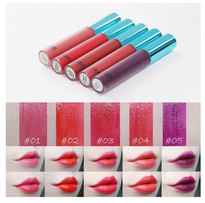 Bảng màu son Bbia Last Velvet Lip Tint-V1