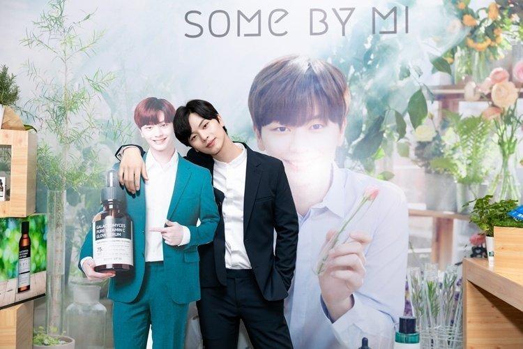 Diễn viên – ca sĩ Yook Sung Jae làm đại sứ mỹ phẩm Some By Mi