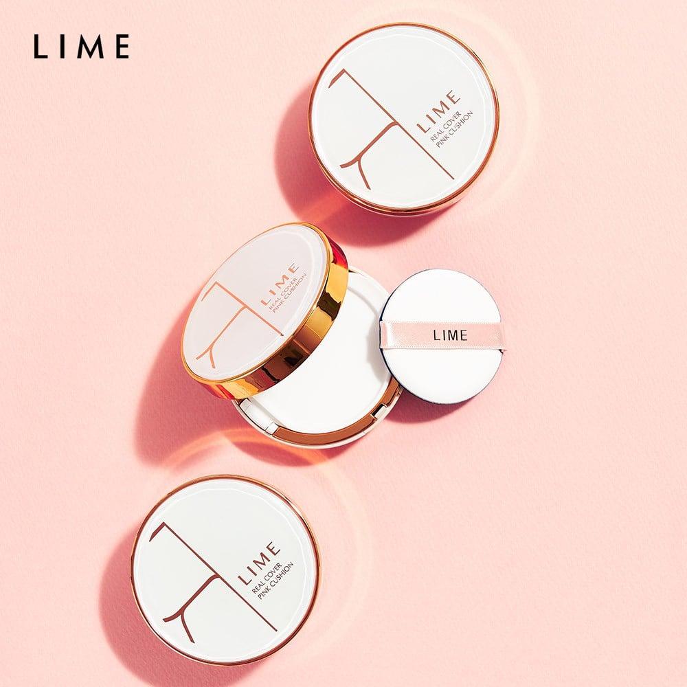 Review Phấn nước Lime Real Cover Pink Cushion - Lamdieu.com
