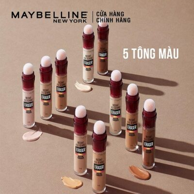 """Review các kem che khuyết điểm Maybelline – """"cứu tinh"""" cho mọi cô nàng có làn da hoàn hảo"""