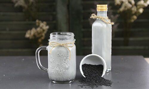 Uống sữa mè đen có mập không? Cách làm sữa mè đen giảm cân, đẹp dáng