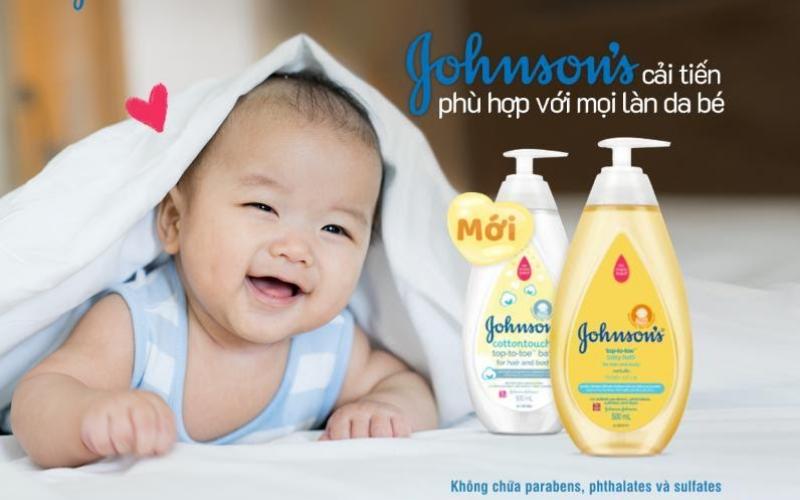 Sử dụng sữa tắm chuyên biệt cho bé