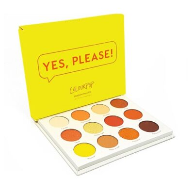 Phấn mắt Colourpop Yes Please! Eyeshadow Palette