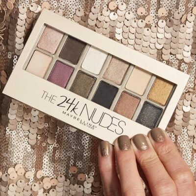 Phấn mắt Maybelline The 24K Nudes Eyeshadow Palette