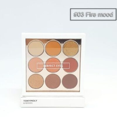 Phấn mắt Tonymoly Perfect Eyes Mood Eye Palette - Fire Mood Palette