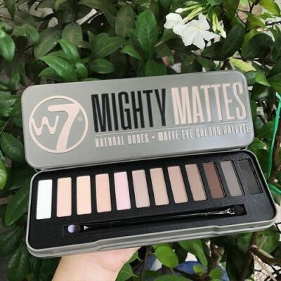 Phấn Mắt W7 - Mighty Mattes Natural Nudes Eye Colour Palette