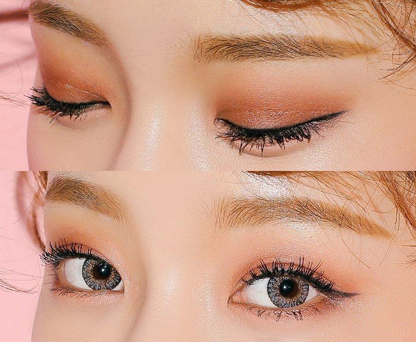 Phấn mắt nên lệch 1 – 2 tone so với màu mắt