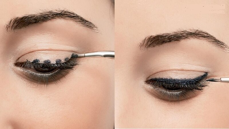Kẻ mắt bằng gel cần cẩn thận, tỉ mỉ