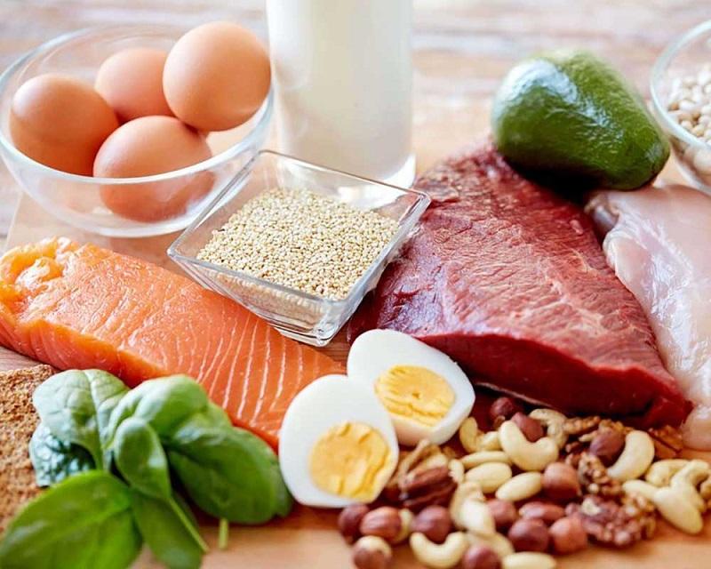 Các thực phẩm chứa nhiều Amino acids