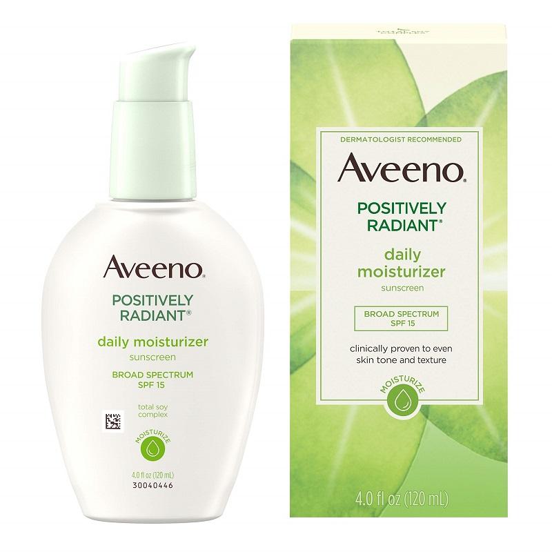 Kem dưỡng ẩm - Aveeno Positively Radiant