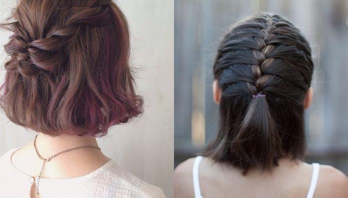 Kiểu tóc ngắn tết đơn giản không mất quá nhiều thời gian của bạn