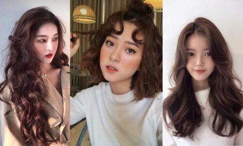 15 kiểu tóc uốn xinh lung linh cho nàng đón Tết 2021