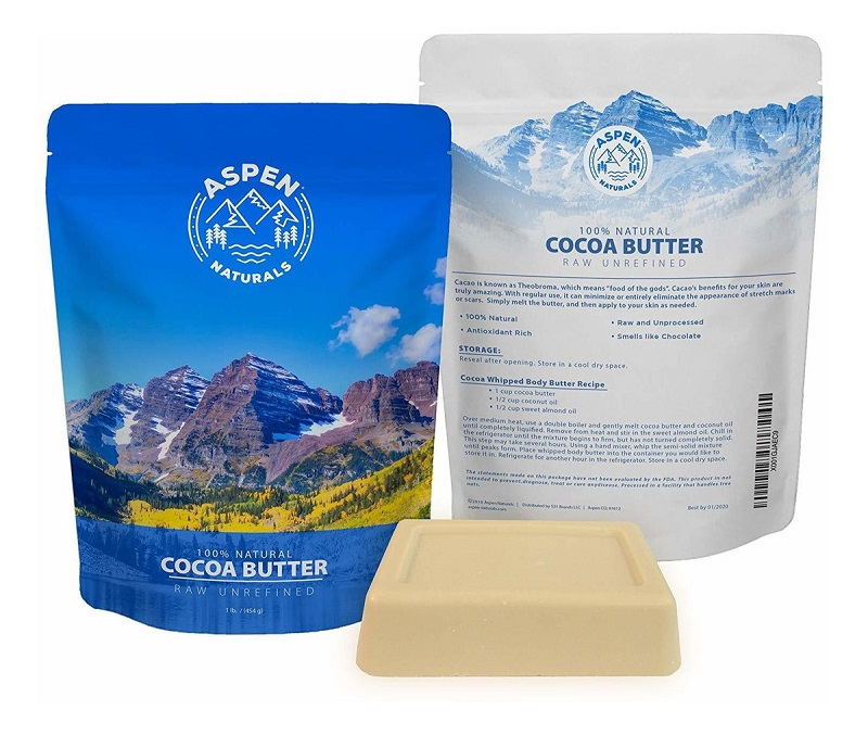 Bơ cacao chưa tinh chế Aspen Naturals